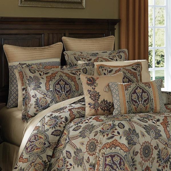 Croscill Callisto Jacquard 4-piece Comforter Set