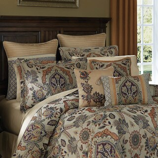 Croscill Callisto Jacquard 4-piece Comforter Set (3 options available)