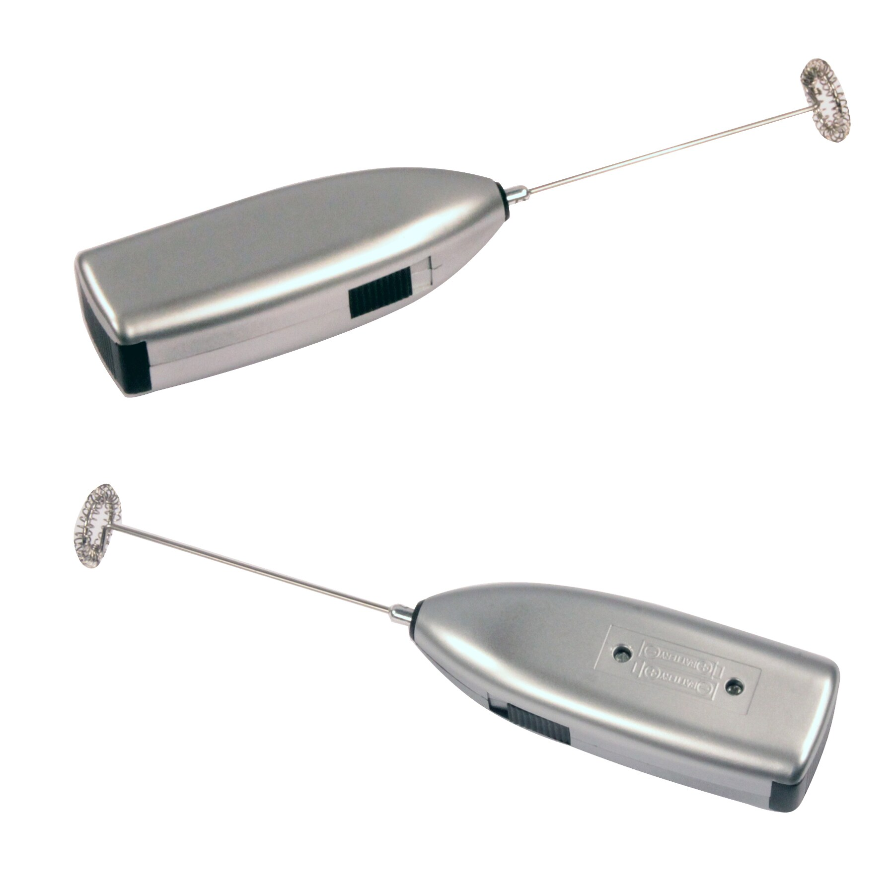 Knox Handheld Milk Frother Silver (set of 2) (Silver) (Pl...