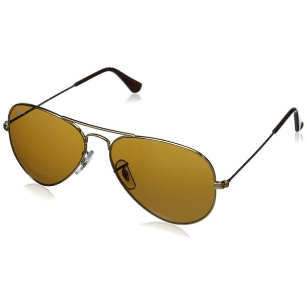 13f857dee Ray-Ban Aviator Classic RB3025 Unisex Gold Frame Brown Classic 62mm Lens  Sunglasses