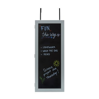 Wall Cabinet Organizer with Chalkboard