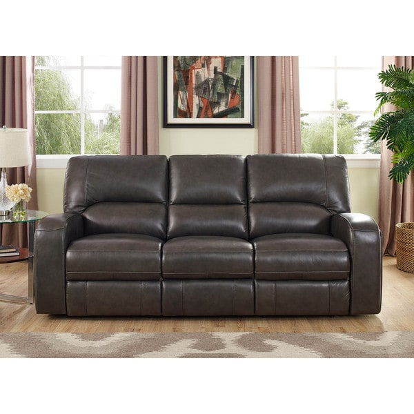 Hydeline By Amax Newcastle Top Grain Leather Power