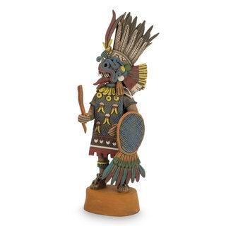 Ceramic Sculpture, 'Tlaloc Lord of Rain' (Mexico)