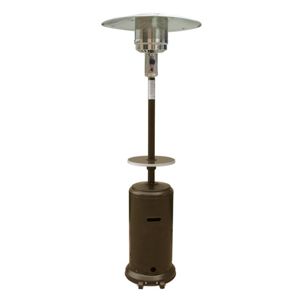 Shop Hiland Patio Heater in Hammered Bronze - Free ...
