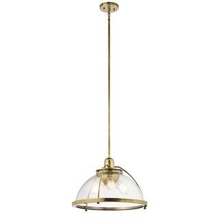 Kichler Lighting Silberne Collection 3-light Natural Brass Pendant