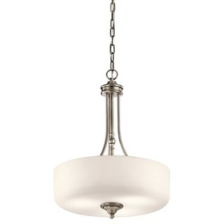Kichler Lighting Lilah Collection 3-light Antique Pewter Pendant