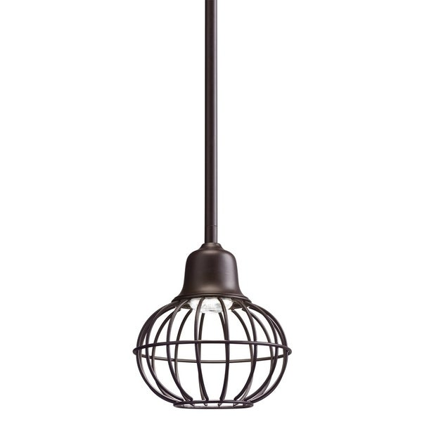 Kichler Lighting Lodge 1-light Olde Bronze LED Mini Pendant