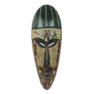African Mask, 'Proud Elephant' (Ghana)