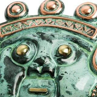 Set of 3 Bronze Masks, 'Ancient Trio' (Peru)
