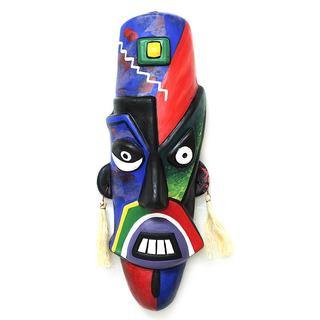 Ceramic Mask, 'Nazca Moustache' (Peru)