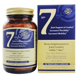 Solgar No. 7 Joint Support and Comfort (90 Vegetable Capsules)
