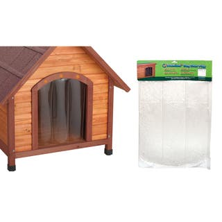 Ware Manufacturing Dog House Door Flap https://ak1.ostkcdn.com/images/products/15372067/P21832277.jpg?impolicy=medium