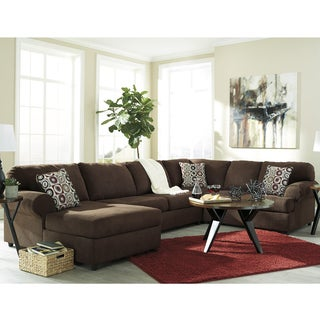 Signature Design by Ashley Jayceon 3-Piece RAF Sofa Sectional in Fabric