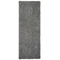 Cozy, Soft and Dense Shag Runner Rug - 2' x 8'