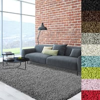 Cozy, Soft and Dense Shag Area Rug - 8' x 8'