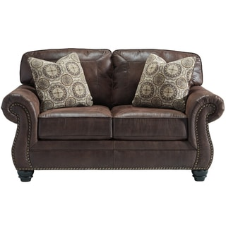 Signature Design By Ashley Breville Charcoal Sofa Free