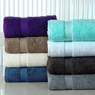 Super Absorbent Cotton Low Twist 12-piece Towel Set