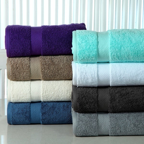 Super Absorbent Cotton Low Twist 12-piece Towel Set