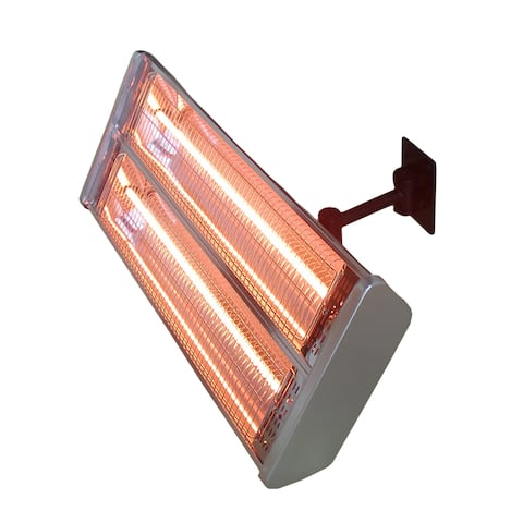 Hiland Dual Bulb Electric Patio Heater