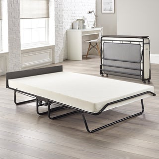JAY-BE Visitor Oversize Folding Bed with Airflow Memory Foam Mattress