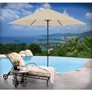 Astella Aluminum 11 Foot Crank Open Market Umbrella