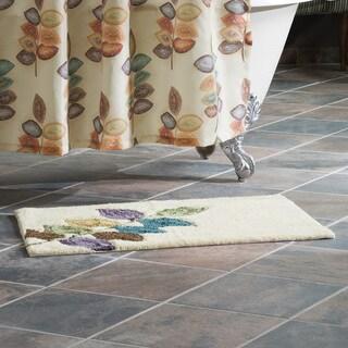 Croscill Mosaic Leaves 20x30-inch Bath Rug