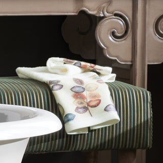 Croscill Mosiac Leaves Embroidered Towels (Multiple Options)