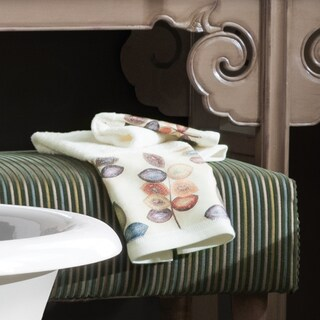 Croscill Mosiac Leaves Embroidered Towels (Multiple Options) (3 options available)