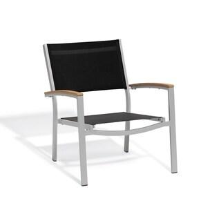Oxford Garden Travira Black Chat Chair, Set of 2