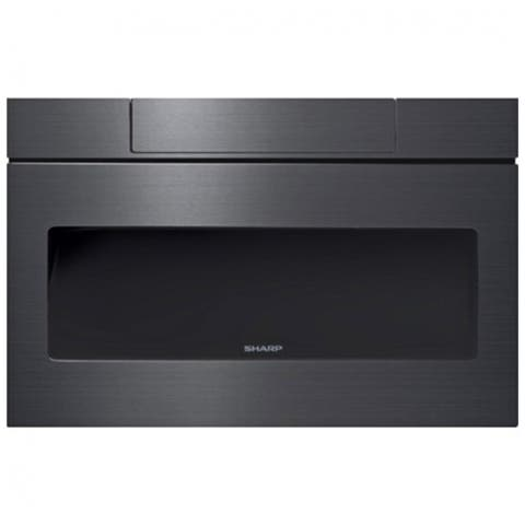 Sharp SMD2470AH 24 Inch Microwave Drawer - Black Stainless