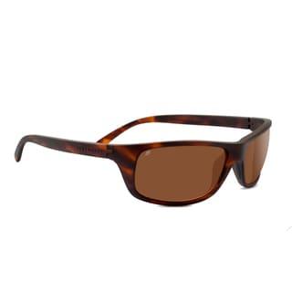 Serengeti Bormio  Unisex Satin Dark Tortoise Frame with Polarized Drivers Lens Sunglasses