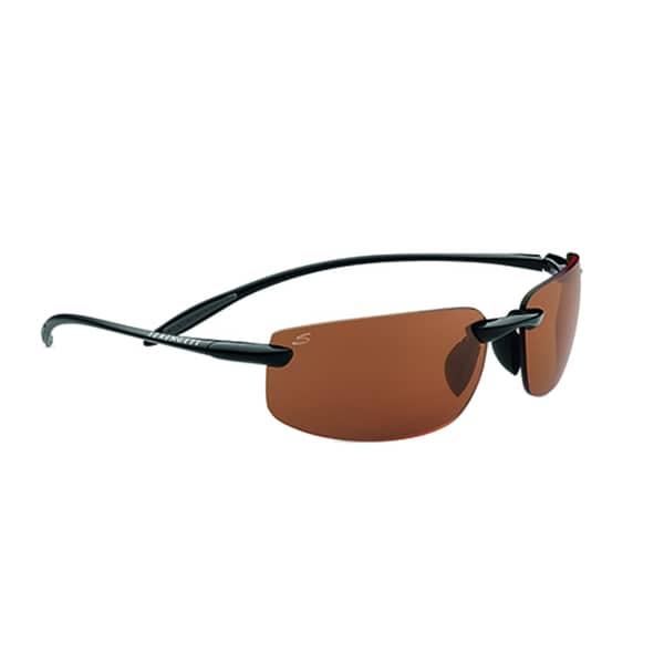f8b10662790 Shop Serengeti Lipari Unisex Shiny and Satin Black Frame with Polarized  Drivers Lens Sunglasses - Free Shipping Today - Overstock.com - 15372272