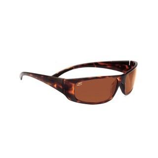 Serengeti Fasano Unisex Dark Tortoise Frame with Polarized Drivers Lens Sunglasses