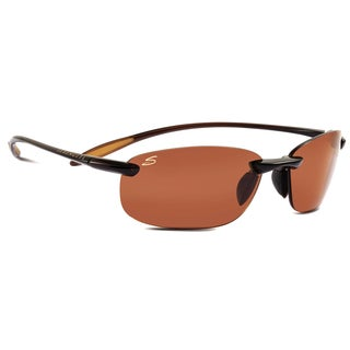 Serengeti Nuvola Unisex Shiny Brown Frame with Polarized CPG Lens Sunglasses