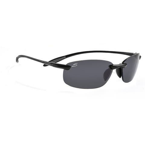 880a9fdb45 Serengeti Nuvola Unisex Shiny Black Frame with Polarized CPG Lens Sunglasses