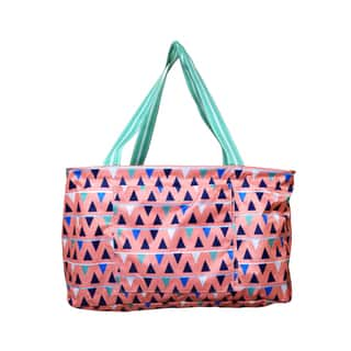 All for Color Sand Castles Travel Tote Bag Bin|https://ak1.ostkcdn.com/images/products/15377677/P21837362.jpg?impolicy=medium