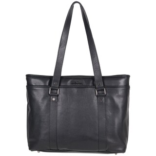Kenneth Cole Reaction Downtown Darling Genuine Pebbled Leather Top Zip 16-inch Laptop Tote Bag (2 options available)