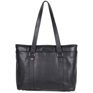 Kenneth Cole Reaction Downtown Darling Genuine Leather Top Zip 16-inch Laptop Tote Bag