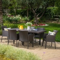 Cosa Mesa Outdoor 7-piece Rectangle Dining Set by Christopher Knight Home