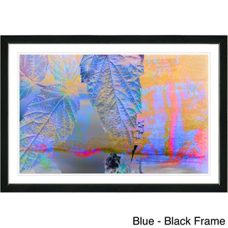 Studio Works Modern Framed Fine Art Abstract Floral Still Lie Painting 'Powers of Augury' Wall Art Giclee Print by Zhee Singer (More options available)