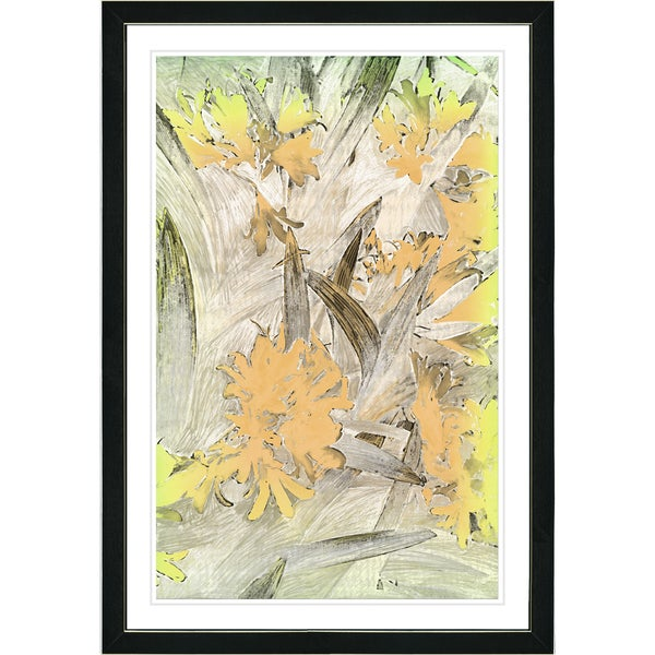 Shop Studio Works Modern Framed Fine Art Abstract Floral Still Life ...