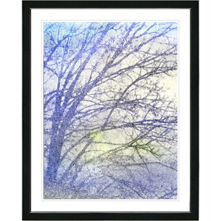 Studio Works Modern Framed Fine Art Floral Still Life Painting 'Winter Sun' Wall Art Giclee Print by Zhee Singer