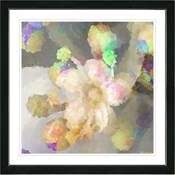Shop Studio Works Modern Framed Fine Art Floral Still Life