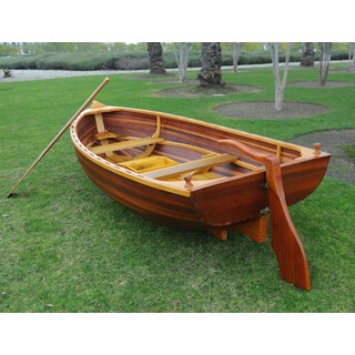 Little Bear Matte Wooden Dinghy