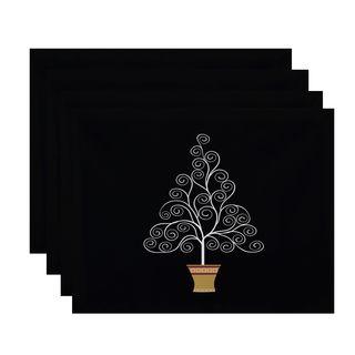Filigree Tree, Geometric Print Placemat