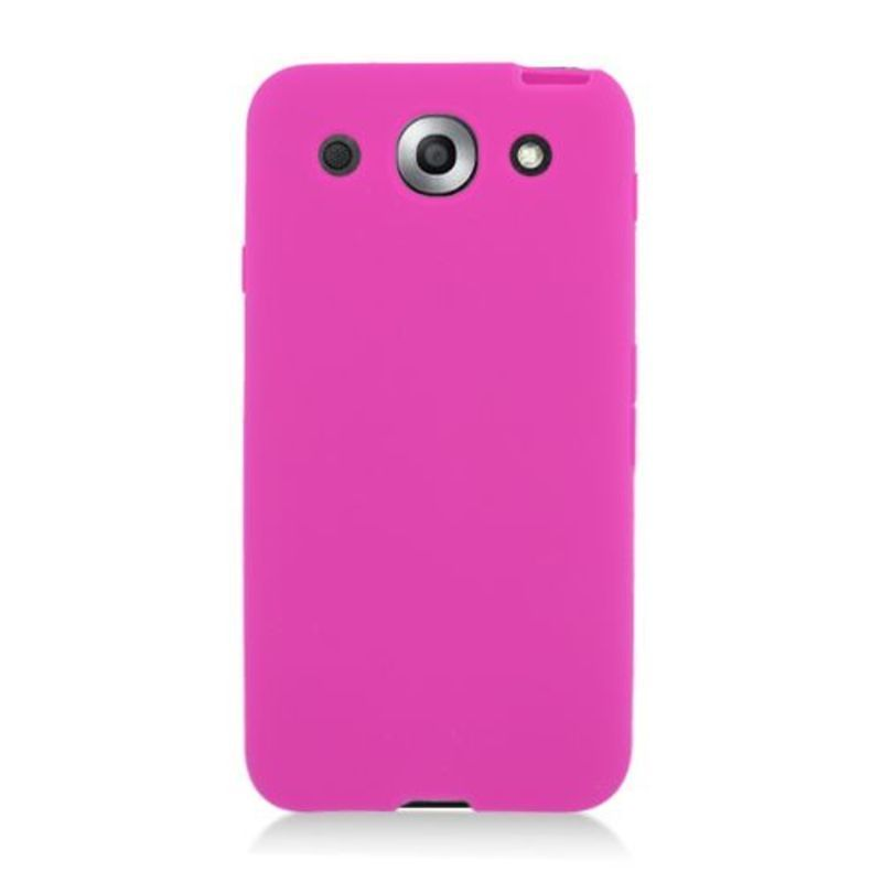 Insten Hot Pink Silicone Skin Gel Rubber Case Cover For L...