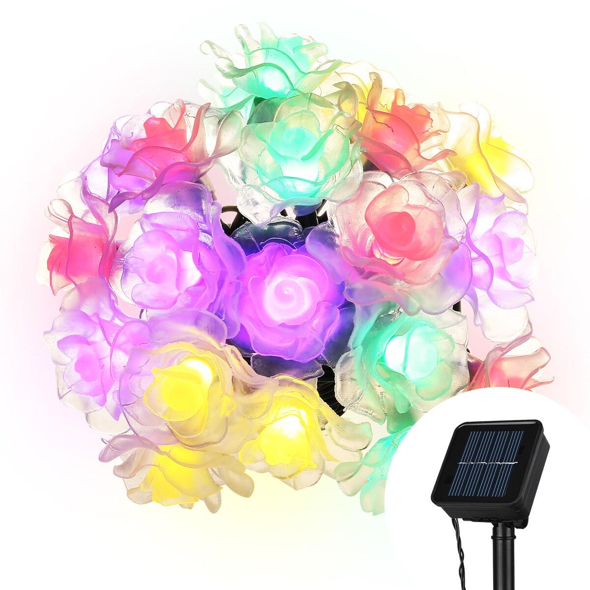 Coutlet Outdoor Solar String Lights, Cymas Waterproof Dec...