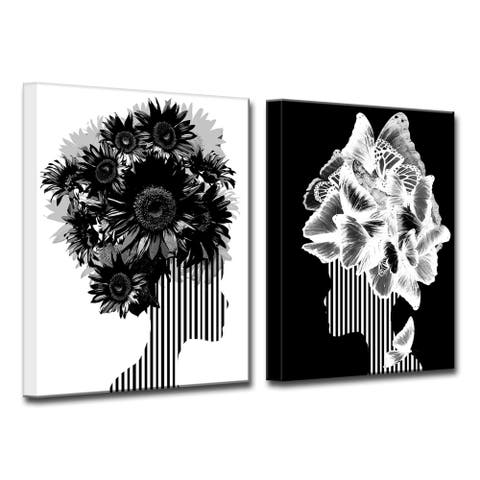 Ready2HangArt 'Mod Swag II' 2-Piece Wall Décor Set