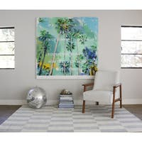 Novogratz by Momeni Delmar Dashes Grey Wool Rug - 5' x 8'