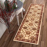 "Well Woven Agra Traditional Ushak Oriental Rug - 2'3"" x 7'3"""